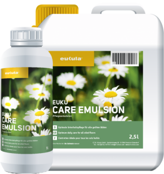 euku care emulsion Pflegeemulsion Wischpflege